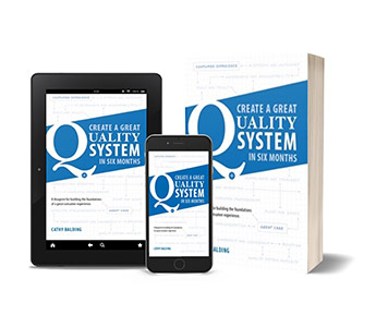 Create a Great Quality System In Six Months Blueprint