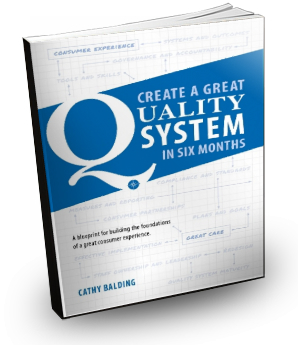 Cgqs blueprint book purchase cathy balding qualityworks the only book on quality ive ever enjoyed rural health service quality manager malvernweather Gallery