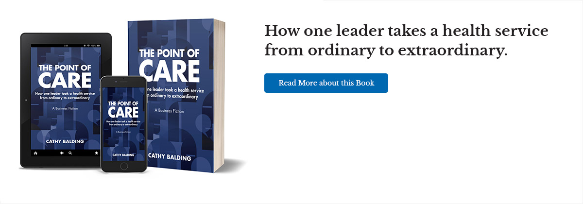 How one leader takes a health service from ordinary to extraordinary. Read more about this book
